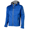 Match softshell jacket in sky-blue