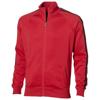 Court  full zip sweater in red