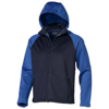 Challenger Softshell in navy-and-sky-blue