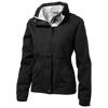 Slice ladies jacket in black-solid