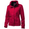 Slice ladies jacket in red