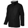 Under Spin insulated jacket in black-solid