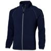 Drop shot full zip micro fleece jacket in navy
