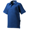 Forehand short sleeve kids polo in classic-royal-blue