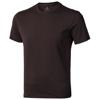 Nanaimo short sleeve men's t-shirt in chocolate-brown