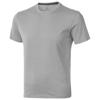 Nanaimo short sleeve men's t-shirt in grey-melange