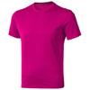 Nanaimo short sleeve men's t-shirt in pink
