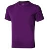 Nanaimo short sleeve men's t-shirt in plum