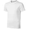 Nanaimo short sleeve men's t-shirt in white-solid