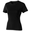 Nanaimo short sleeve women's T-shirt in black-solid