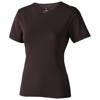 Nanaimo short sleeve women's T-shirt in chocolate-brown
