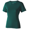 Nanaimo short sleeve women's T-shirt in forest-green