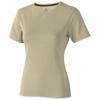 Nanaimo short sleeve women's T-shirt in khaki