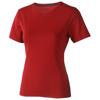 Nanaimo short sleeve women's T-shirt in red