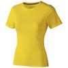 Nanaimo short sleeve women's T-shirt in yellow