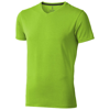Kawartha short sleeve men's organic t-shirt in apple-green