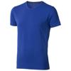 Kawartha short sleeve men's organic t-shirt in blue