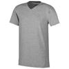 Kawartha short sleeve men's organic t-shirt in grey-melange