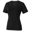 Kawartha short sleeve women's organic t-shirt in black-solid