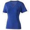 Kawartha short sleeve women's organic t-shirt in blue