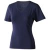 Kawartha short sleeve women's organic t-shirt in navy