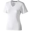 Kawartha short sleeve women's organic t-shirt in white-solid
