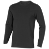 Ponoka long sleeve men's organic t-shirt in anthracite