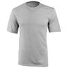 Sarek short sleeve T-shirt in heather-grey