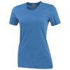Sarek short sleeve ladies T-shirt in heather-blue