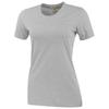 Sarek short sleeve ladies T-shirt in heather-grey