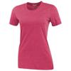 Sarek short sleeve ladies T-shirt in heather-red