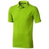 Calgary short sleeve men's polo in apple-green