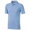 Calgary short sleeve men's polo in light-blue