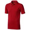 Calgary short sleeve men's polo in red