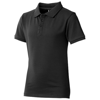 Calgary short sleeve kids polo in anthracite