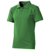 Calgary short sleeve kids polo in fern-green