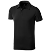 Markham short sleeve men's stretch polo in anthracite