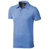 Markham short sleeve men's stretch polo in light-blue