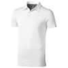 Markham short sleeve men's stretch polo in white-solid