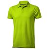 Yukon short sleeve Polo in apple-green