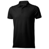 Yukon short sleeve Polo in black-solid