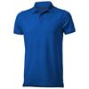 Yukon short sleeve Polo in blue