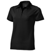 Yukon short sleeve ladies Polo in black-solid