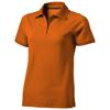 Yukon short sleeve ladies Polo in orange