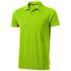 Seller short sleeve men's polo in apple-green