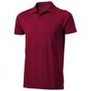 Seller short sleeve men's polo in burgundy