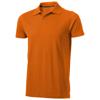 Seller short sleeve men's polo in orange