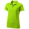 Seller short sleeve women's polo in apple-green