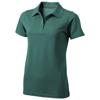 Seller short sleeve women's polo in forest-green