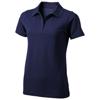 Seller short sleeve women's polo in navy